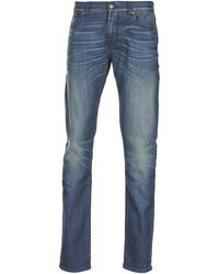 7014bbcf 7 For All Mankind - Ronnie Electric Mind Men's Skinny Jeans In Blue - Lyst