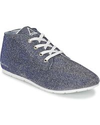 ELEVEN PARIS - Basglitter Women's Shoes (trainers) In Silver - Lyst