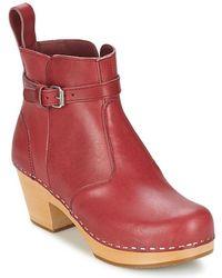 Swedish Hasbeens - Jodhpur Low Ankle Boots - Lyst