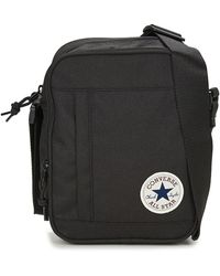 c8adea6317 Converse Core Poly Messenger Women's Messenger Bag In Black in Black ...