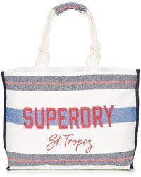 e4d00641c Superdry - Amaya Rope Tote Shopper Bag - Lyst