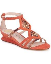 House of Harlow 1960 - Celiney Women's Sandals In Orange - Lyst