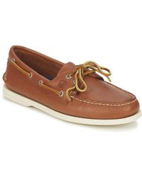 Sperry Top-Sider - Ao Two Eye Boat Shoes - Lyst