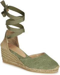 125e7189a72 Castaner - Carina Women s Sandals In Green - Lyst