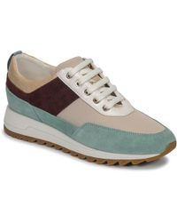 Geox D Tabelya B Low top Sneakers in Green Save 5% Lyst