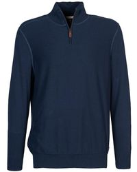 Timberland - Williams River 1/2 Zip Men's Jumper In Blue - Lyst