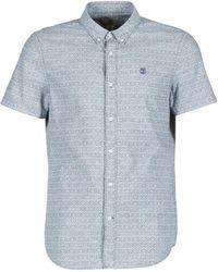 Timberland - Ss Taunton River Short Sleeved Shirt - Lyst