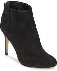 6921f676d Sam Edelman Kourtney Grey Suede Ankle Boots in Gray - Lyst