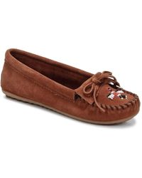 Minnetonka - Thunderbird Ii Loafers / Casual Shoes - Lyst