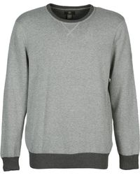 Timberland - Williams River Crew Men's Jumper In Grey - Lyst