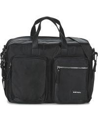 DIESEL - Crash Briefcase - Lyst