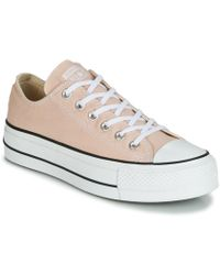 Converse - Chuck Taylor All Star Lift - Ox Women s Shoes (trainers) In  Multicolour 92f139a78