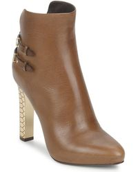 Roberto Cavalli | Wds229 Low Ankle Boots | Lyst