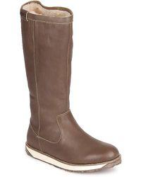 EMU - Leeville Women's Mid Boots In Brown - Lyst