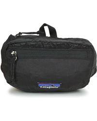 Patagonia - Lw Travel Mini Hip Pack Men's Hip Bag In Black - Lyst