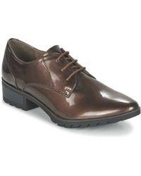 Tamaris - Phanie Women's Casual Shoes In Brown - Lyst