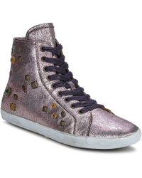 Apepazza   Eva Shoes (high-top Trainers)   Lyst