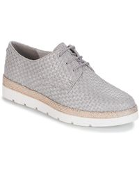 S.oliver - - Women's Casual Shoes In Silver - Lyst