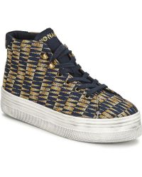 f795fdee8cd No Name - Plato Hi Cut Shoes (high-top Trainers) - Lyst