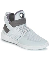 Supra - Skytop V Women's Shoes (high-top Trainers) In Grey - Lyst