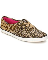 Keds - Ch Leopard Heart Shoes (trainers) - Lyst