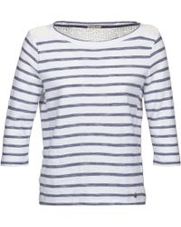 Hilfiger Denim - Salma Women's Long Sleeve T-shirt In Blue - Lyst
