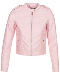 Vero Moda - Vmalice Leather Jacket - Lyst