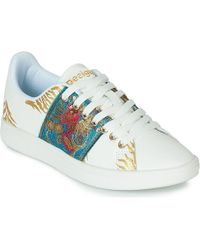 c07d3d574 Desigual - Shoes cosmic exotic Tropical Women s Shoes (trainers) In White -  Lyst