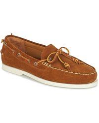 Polo Ralph Lauren - Millard Boat Shoes - Lyst