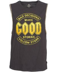Volcom - Ball N Chain Vest Top - Lyst