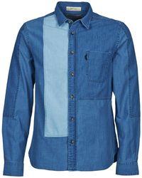 Chevignon - Cl Serge Long Sleeved Shirt - Lyst