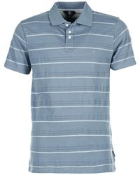 Volcom - Woozer Stripe Men's Polo Shirt In Blue - Lyst