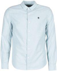 Timberland - Ls Rattle River Oxford Shirt Slim Long Sleeved Shirt - Lyst