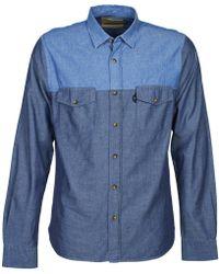 Chevignon - Cl Tinto Long Sleeved Shirt - Lyst