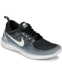 Lyst Nike Free Rn Distance 2 Women's Running Shoes in Gray for Men