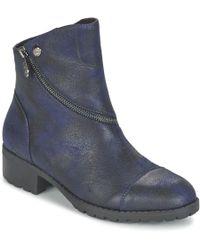 Les P'tites Bombes - Grazia Mid Boots - Lyst
