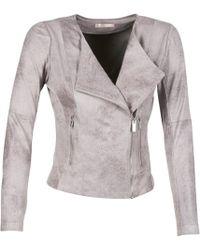 Les P'tites Bombes - Elione Leather Jacket - Lyst
