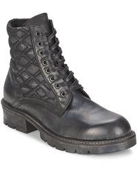 Strategia - Bomber Mid Boots - Lyst
