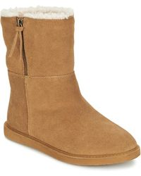 Roxy - Jocelyn J Boot Brn Mid Boots - Lyst