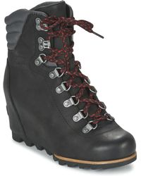 Sorel - Conquest Wedge Snow Boots - Lyst
