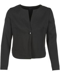 Armani Jeans Jermain Women s Jacket In Black in Black - Lyst 5270e16c30462