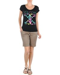 Volcom - Frochickie 11 Short Women's Shorts In Multicolour - Lyst