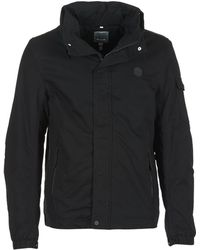 Bench - Easy Cotton Mix Men's Jacket In Black - Lyst