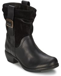 Fly London - Maha Low Ankle Boots - Lyst