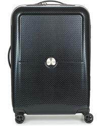 Delsey - Turenne Cab 4r 55cm Women's Hard Suitcase In Black - Lyst