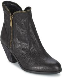 Sam Edelman - Linden Low Ankle Boots - Lyst