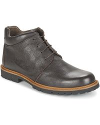 So Size - Wood Mid Boots - Lyst