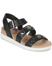 3780cb845 Tory Burch Flat Gladiator Sandals Reggie in Metallic - Lyst
