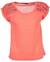 Color Block - Aileen Women's Blouse In Pink - Lyst