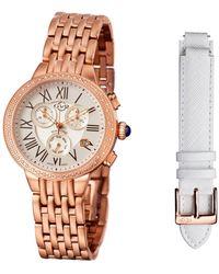 Gv2 - Women's Astor Chrono Diamond Watch - Lyst
